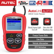 Autel AL319 Automotive Scanner OBDII EOBD Code Reader Car Engine Diagnostic Tool