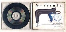 Cd FRANCO BATTIATO L'paraguas e la máquina de coser PROMO EMI 1995 Cds single