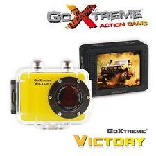 Goxtreme victoire 20109 étanche hd 720p 1.3MP capteur cmos caméra d'action jaune
