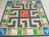 Careers Board Game Parker Brothers Vintage 1971 Pieces and Parts Board