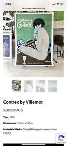 Contrex Vintage Poster Framed