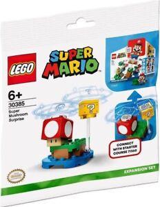 LEGO Super Mario Mushroom Surprise Expansion Set New & Sealed Polybag 30385 Gift