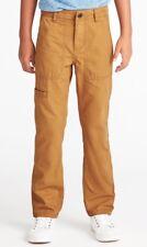 Nwt Old Navy Boys Slim Ripstop-Canvas Utility Pants Size 14 NWT Boy's Camel