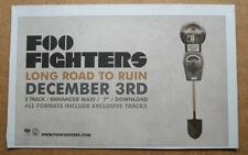 FOO FIGHTERS - LONG ROAD TO RUIN - 2007 - ORIGINAL MUSIC ADVERT 25 x 16 cm