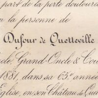 Louis Gaétan Dufour De Quetteville Honfleur 1881