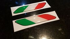 Fiat 500 595 695 Italia Abarth wing Badges Decals Stickers around 100mm wide