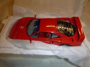 Franklin mint Scale model of a 1989 Ferrari F-40. Comes in the polystyrene box