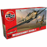 Airfix Model Kit Messerschmitt Bf109E 1:72 Scale WW2 Military War Aircraft 1008A