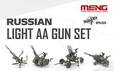 1/35 RUSSIAN ZPU Série AA Canons antiaériens par Meng ~ SPS-026