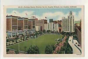 Pershing Square-Los Angeles Biltmore-Los Angeles California-Postcard