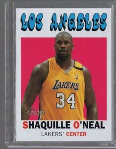 2000-01 Topps Heritage Shaquille O'neal #15