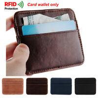 carte de crédit anti - chef la rfid bloquant pince à billets slim portefeuille