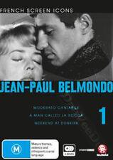 Jean-Paul Belmondo - Vol.1 NEW PAL Cult 3-DVD Set