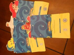 RARE Little Mermaid Character Happy Meal Bags - EUROPEAN ISSUE UK