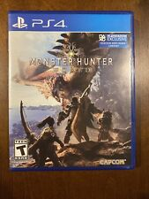 Monster Hunter: World (Sony PlayStation 4, 2018) PS4