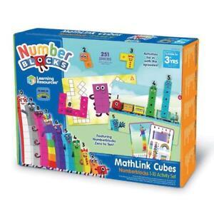 Learning Resources Numberblocks Mathlink Cubes 1-10 Activity Set CBeebies