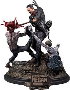 AMC The Walking Dead Deluxe Negan Lucille Bat Zombie Resin Figure Statue #/1000