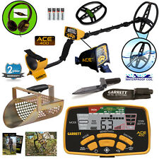 Garrett ACE 400 Metal Detector Free Accessories, Headphones + SCOOP + DIGGER