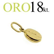 ciondolo CHICCO CAFFE' regalo  oro 18kt. 750/1000 yellow GOLD 18kt. coffee bean