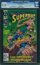 Superman: The Man of Steel #17 CGC 9.8 1992 1st Doomsday! Cameo! JLA K4 265 1 cm