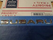 Subaru 2014-15 (Subaru wording) hatch EMBLEM