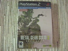 METAL GEAR SOLID 3 SNAKE EATER EDICION METALICA PLAYSTATION 2 PS 2 NUEVO