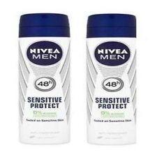 2 x Nivea Men Sensitive Protect 48H Anti-Perspirant, 150ml