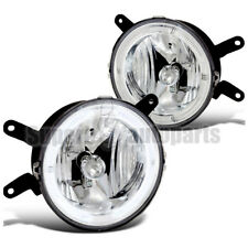 2005-2009 Ford Mustang GT Halo Fog Lights Driving Lamps Clear SpecD Tuning