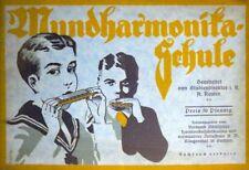 Mundharmonika-Schule. Schule zur Erlernung des Mundharmonikaspieles. Bearbeitet