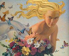 """Golden Breeze"" Thomas Blackshear Anniversary Edition Giclee Canvas"