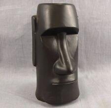 The Fireside Tiki Mug Vintage Coffee Cup Black Easter Island Fort Atkinson WI