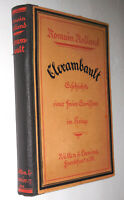 Romain Rolland~Clerambault~1922 German Edition~Translated by Stefan Zweig