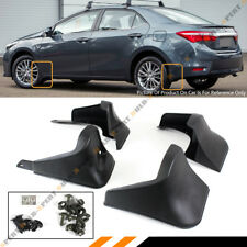 4 PCS FRONT & REAR SPLASH GUARD MUD FLAPS FOR 2014 2015 2016 2017 TOYOTA COROLLA