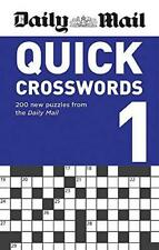 Daily Mail Quick Crosswords Volume 1 by Daily Mail Paperback NEW Book