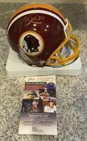 Champ Bailey Hand Signed Washington Redskins Mini Helmet-JSA COA-FREE SHIPPING!!