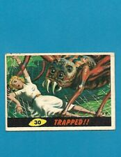 1962 MARS ATTACKS Nice Condition Alien Space War Card #30 TRAPPED