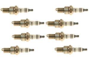Set of 8 Spark Plugs Bosch Super Plus 7511 For Mercedes R107 560SL 380SLC 450SL