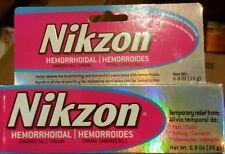 "NIKZON HEMORRHOIDAL CREAM--NO BOX -FAST RELIEF BETTER THAN ""PREPERATION U KNOW"""