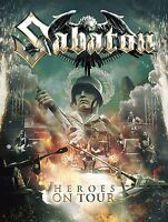 SABATON - HEROES ON TOUR 2 DVD + CD NEUF