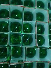 Green Light Bulbs SYLVANIA 38-Watt Transparent Indoor/Outdoor  - A19 - NEW