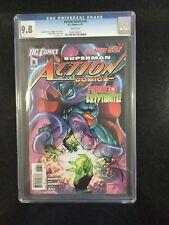 ACTION COMICS # 6 / The new 52! / CGC Universal 9.8 / April 2012 / DC COMICS
