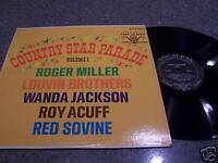 "Country Star Parade ""Vol. 1"" VOCALION LP Miller/Acuff/Sovine/Louvin/Jackson"