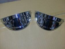 HEADLIGHT VISOR 1940'S 1950'S CHEVY CAR AND TRUCK BOMBS OLD STYLE plain style