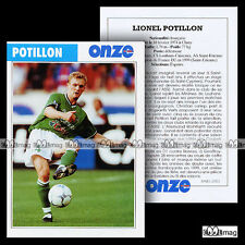 POTILLON LIONEL (AS SAINT-ETIENNE) - Fiche Football 2001