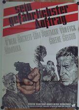 SEIN GEFÄHRLICHSTER AUFTRAG (Plakat '68) - PATRICK O'NEAL / JOAN HACKETT
