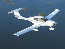 Diamond DA40 4Seat Light Trainer Aircraft Wood Model Replica Large Free Shipping