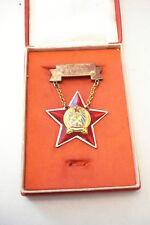 Hungary Hungarian Medal Perfect Worker + Rakosi Box! B