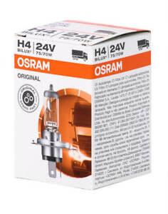 Osram H4 24V Truck Base P43t Globe Halogen Headlight Bulb