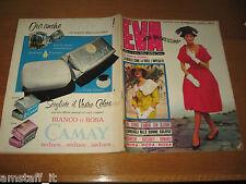 EVA=1959/21=RIVISTA MAGAZINE MODA DONNA WOMAN CUCINA ARREDAMENTO=
