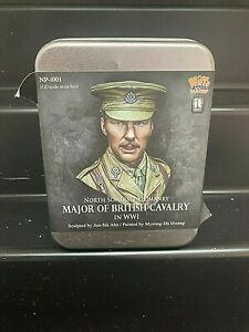 NUTS PLANET 1:10 MODEL KIT - MAJOR OF BRITISH CAVALRY WW1 RESIN BUST